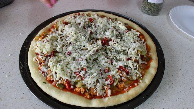 masa de pizza sin gluten, masa de pizza para celiacos, intolerantes al gluten, Julia y sus recetas, celiacos,