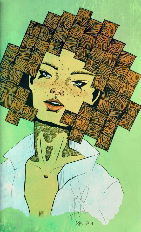 SquareHair - Marleen van de Velde