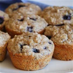 Health Nut Blueberry Muffins - need oat bran
