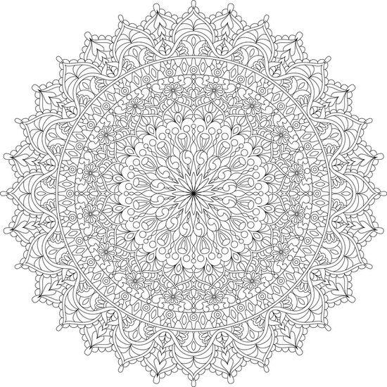 warm soul mandala coloring page by varda k mondaymandala