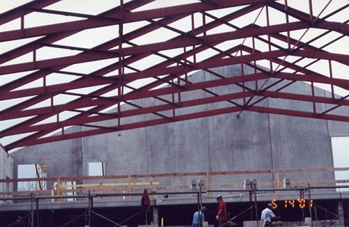 Best 25 steel trusses ideas on pinterest structural for Buy roof trusses