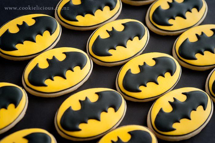 Resultado de imagen para icing cookies batman
