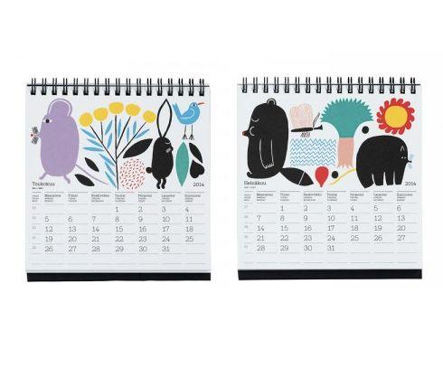 Marimekko table calendar 2014