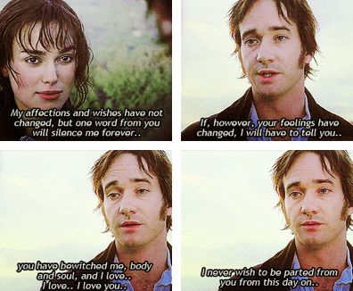 Oh, Mr. Darcy