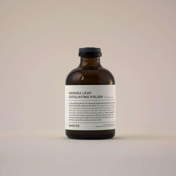 Manuka leaf exfoliating polish | Simon James Design