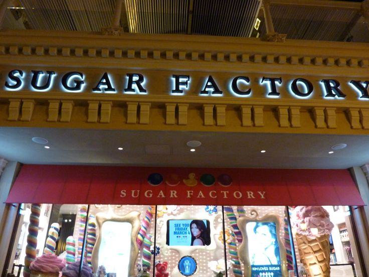 The Sugar Factory and American Brasserie at the Paris Hotel and Casino offers several options to dine with the family; an Outdoor Cafe where you can purchase sandwiches, salads and desserts to go and have a seat at one of their outdoor counter tops overlooking the Las Vegas Strip.