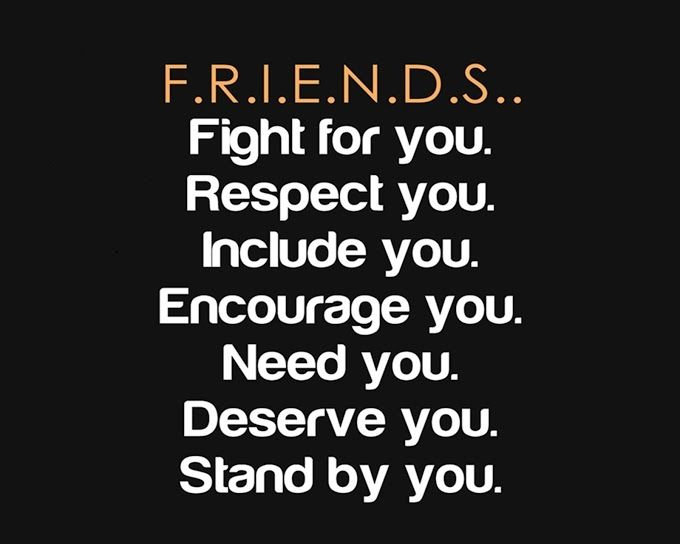 Lifehack - Friends, fight for you, stand by you  #Friend, #Friendship