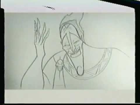 """Some of the efx animation of the 1996/1997 Disney Feature Animations EFX teams created for Disney's 1997 film """"Hercules"""" - EFX Pencil Tests"""
