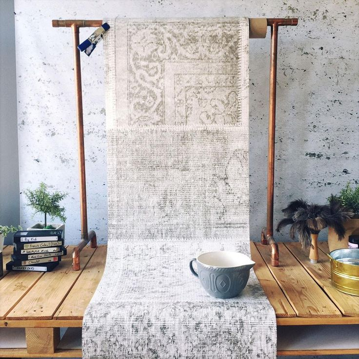 Patchwork Pale Wallpaper by WYNIL: Wall You Need Is Love! Printed on highly resistant ecological paper, worldwide shipping.
