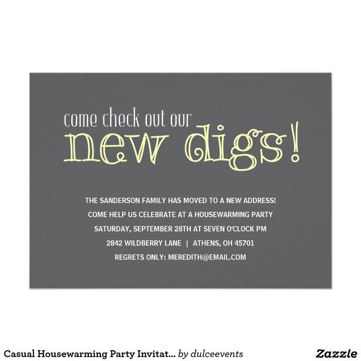 25+ best Housewarming invitation wording ideas on Pinterest | Housewarming party invitations ...