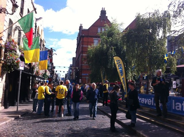 Sweden Day in Temple Bar