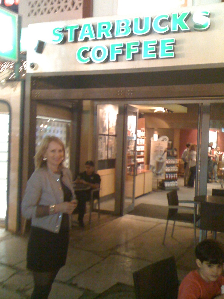 Sharm El-Sheikh, 2010. When we're there, we go to Starbucks almost every evening! :)