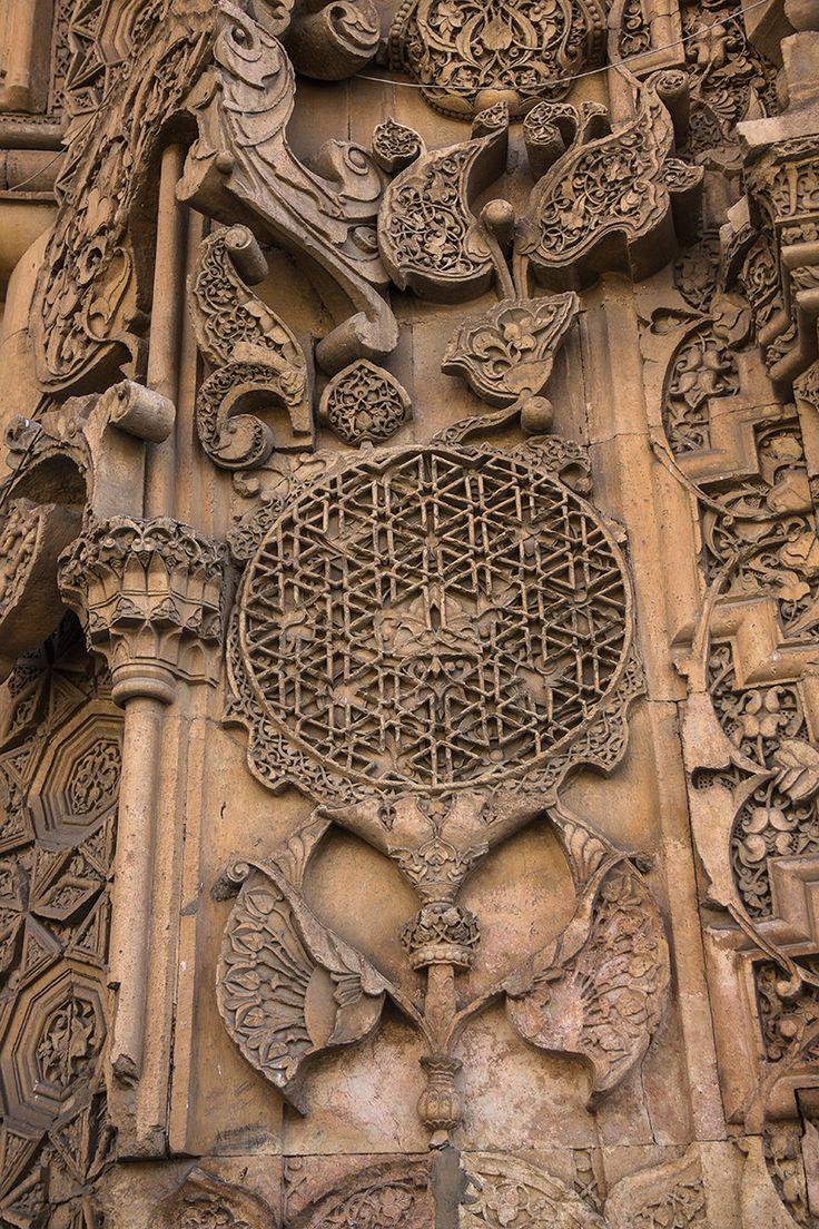 Divriği Ulu Camii Cennet Kapısı Taş İşlemesi