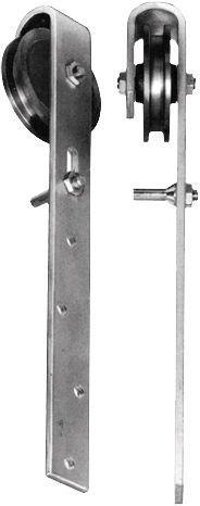 Schiebetürrollen Schiebetürrolle Schiebetorrolle Türrolle Schiebetür 60 mm NEU