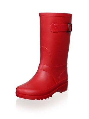 55% OFF igor Kid's Piter Rain Boot (Red)