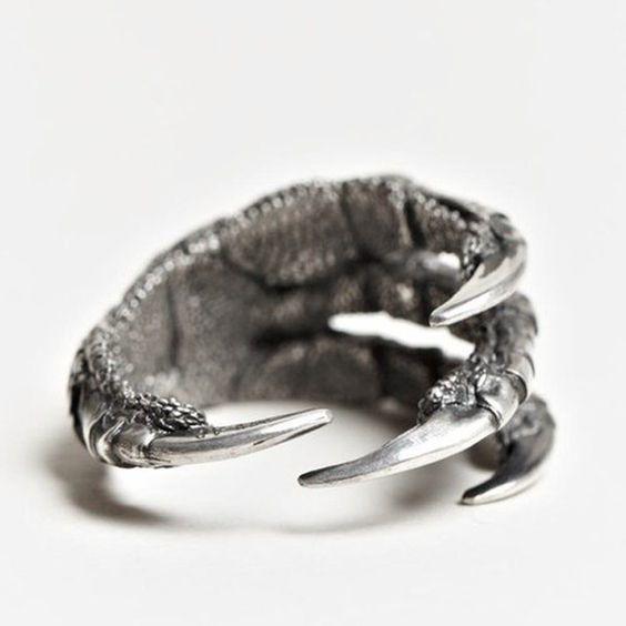 Princess Theodora's dragon claw ring