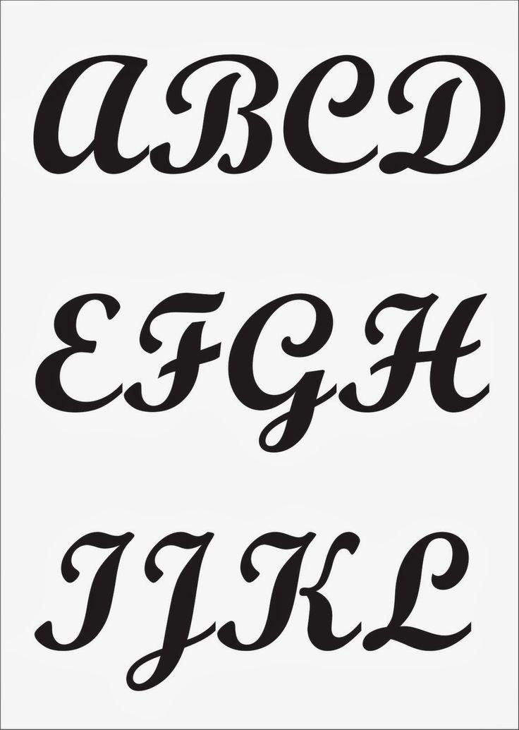 Alfabetos são sempre necessários e nunca demais não é mesmo? Então, deixo aqui duas sugestões bem bonitinhas! Aproveitem e vamos ...