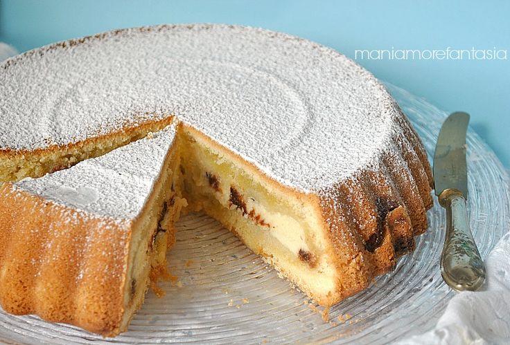 torta con crema di ricotta tipo nua