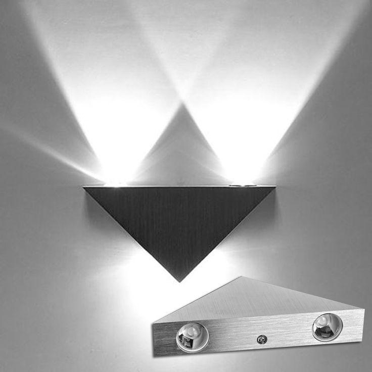 Из светодиодов 3 Вт высокой мощности из светодиодов стены света лампы вверх вниз из светодиодов прожектор для дома / KTV бар в помещении ванной свет