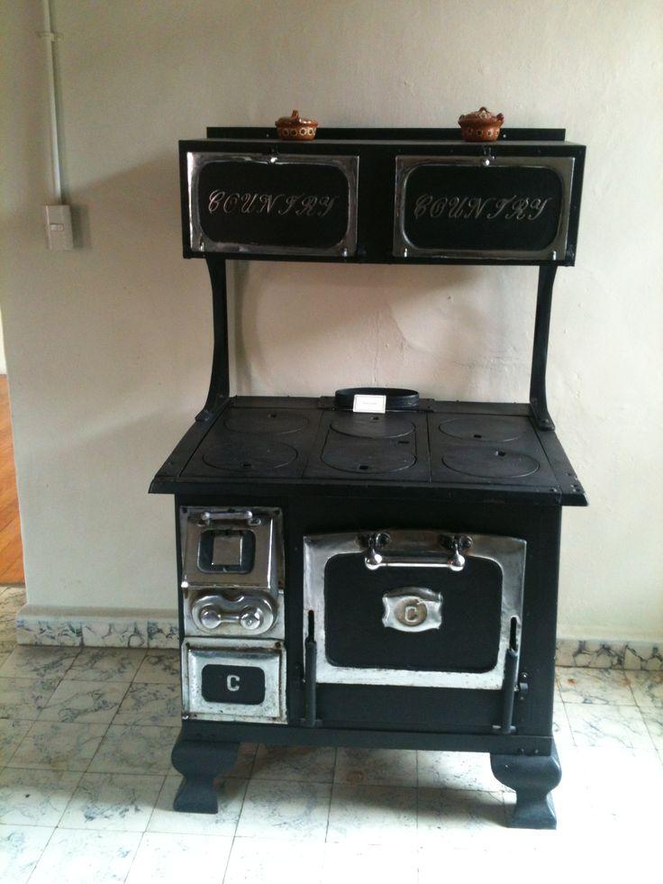 82 mejores ideas sobre estufas y cocinas antiguas en for Cocinas de hierro antiguas