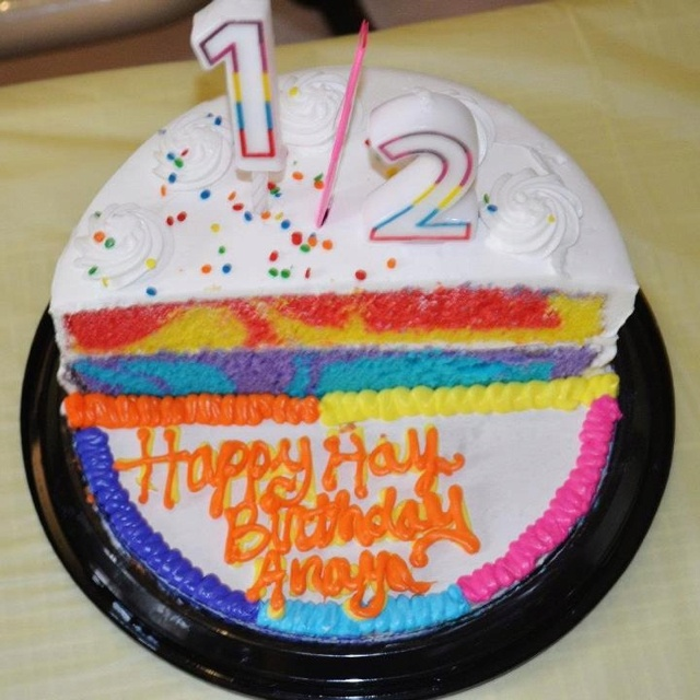 Daphne Made Her Own Birthday Cake Too: 23 Best Images About 6 Months Half Birthday On Pinterest
