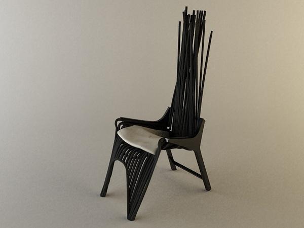 Pianist Easy Chair by Jodie Darmawan