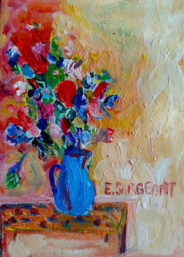 Peachy Keen on You // Elizabeth Sargeant Art