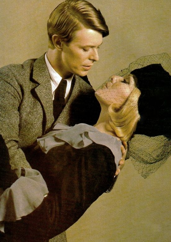 Super Seventies — David Bowie and Kim Novak in 'Just A Gigolo',...