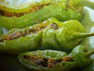 un mondo di ricette: peperoncini ripieni