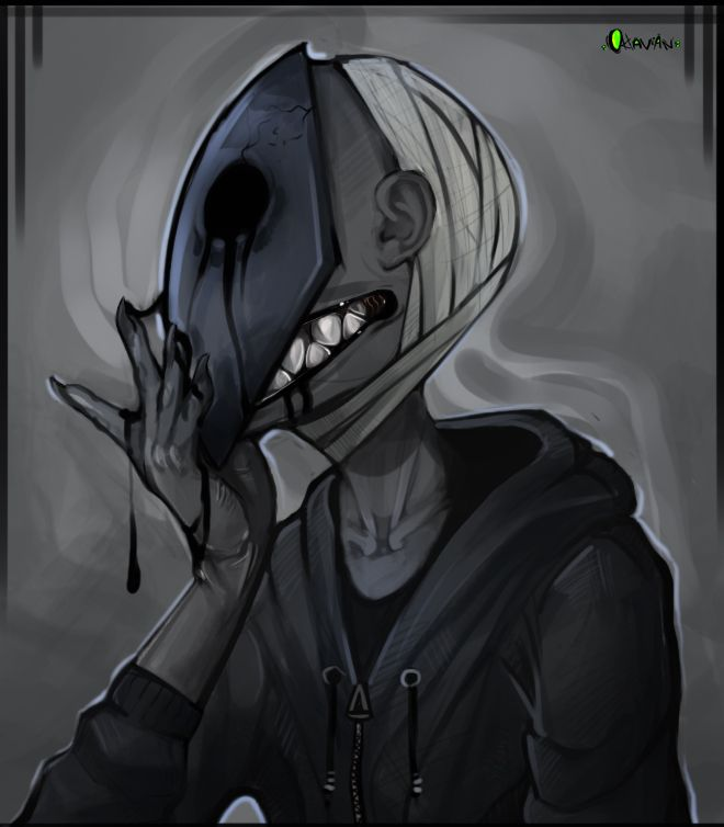 First of all: This is kind of my view of how E.J may look, becuase i like him more this way. (Brown hair, and normal human face under the mask? eeh..?) Second of al: I have no idea why there are ba...