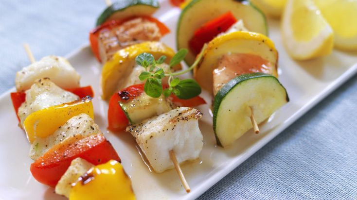 Smarte og sunne grillspyd - Vektklubb