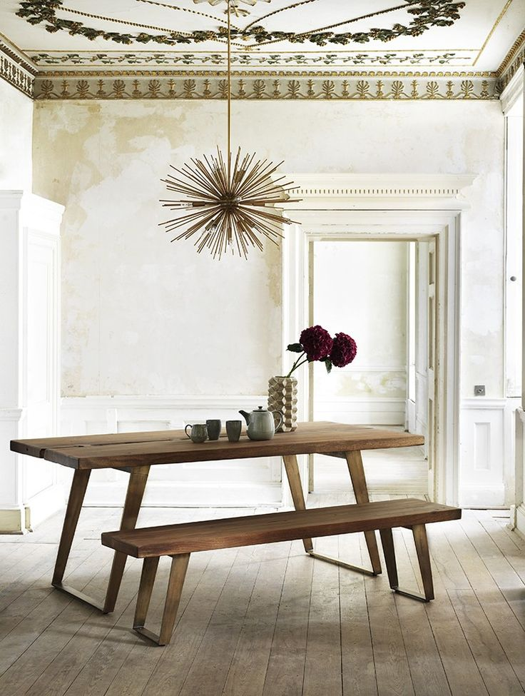This sturdy dining table is ideal for intimate gatherings with friends and family. We share our tips to channelling the latest in interior design trends with 3 keys items featuring in the current Graham & Green sale