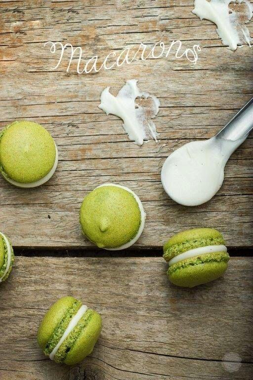 Disordinati Incontri di Materie - MoGa : Macarons al tè MatchaIngredienti per i Macarons  ...