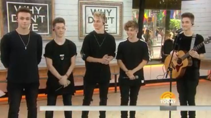 WDW on Today show (video uploaded by Why Don't We Worldwide)