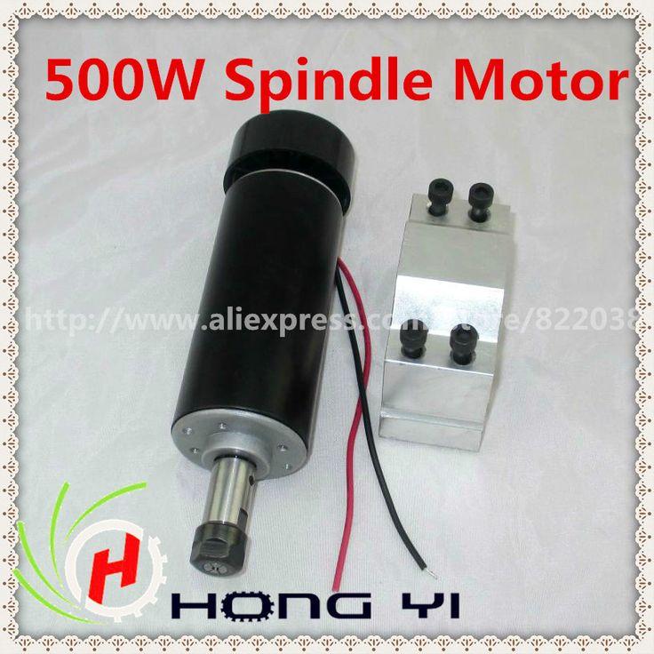 Aliexpress.com: Comprar Top 500 W ER11 collet 52 mm diámetro DC 0 100 CNC talla de aire frío Motor del huso For grabado agotamiento apagado menos de 0.01 mm de motor al aire libre fiable proveedores en Guangzhou, HongYi Automation Co., Ltd.