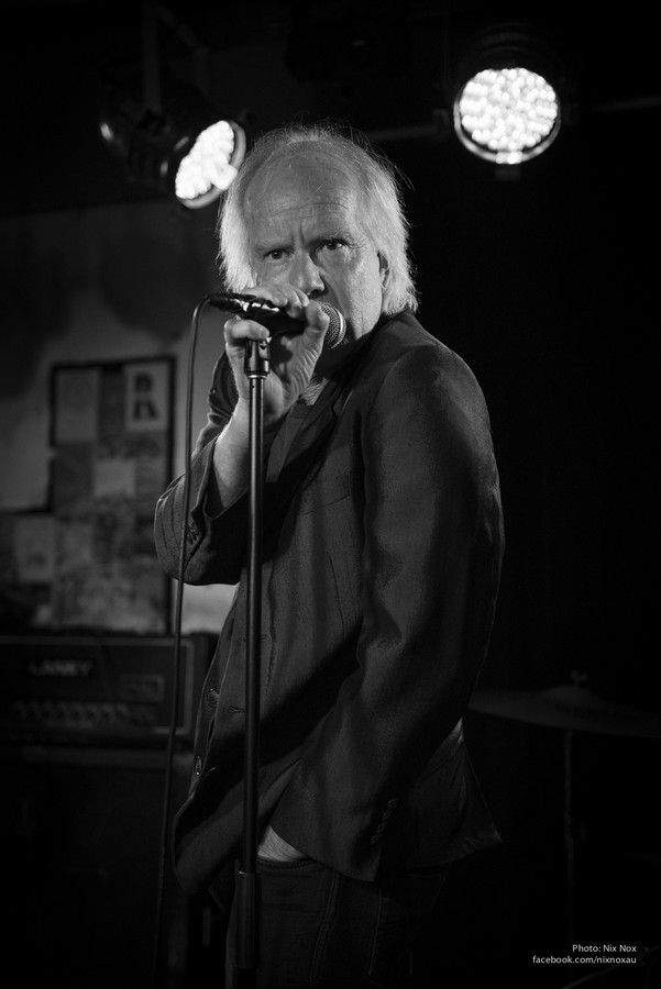 "Rob Younger, lead singer of Australia garace rock band ""The New Christs"" (ex Radio Birdman)"