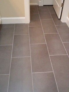 12x24 Floor Tile Brick Pattern I Would Go Horizontal With