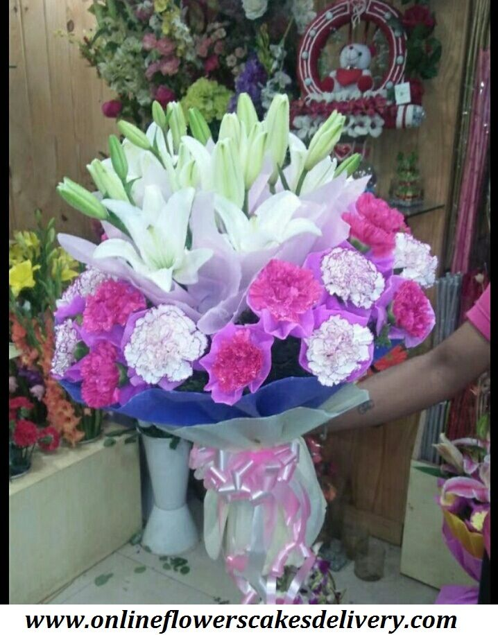 Buy and Send Carnations Flowers Online from online flowers cakes delivery  with Free Shipping, Express Delivery, Same Day Delivery! Carnation Flower Delivery.  Same day flowers & cake delivery  in india. #Indiaflorist #onlineflorist #Samedayflowersdelivery #Samedaycakesdelivery #Carnationsflowers  #Pinkcarnations #Whitecarnation #Freshcarnations URL :- www.onlineflowerscakesdelivery.com