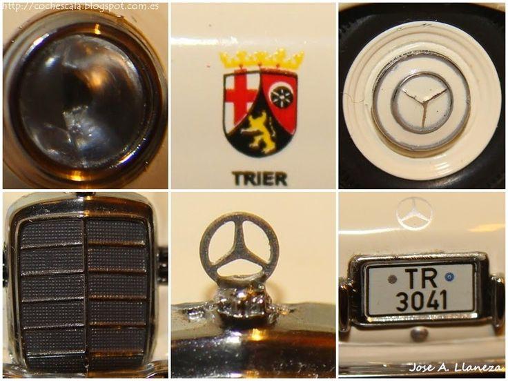 Son43: Mercedes 180 Policial Trier (Alemania)