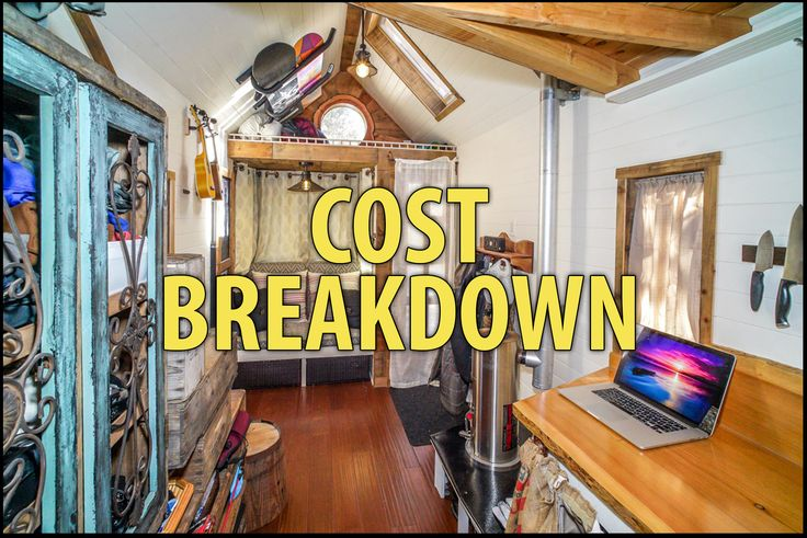 "In this article I explain why people are going tiny, the reason tiny homes are (unfairly) considered ""too expensive,"" and breakdown my own tiny house costs."
