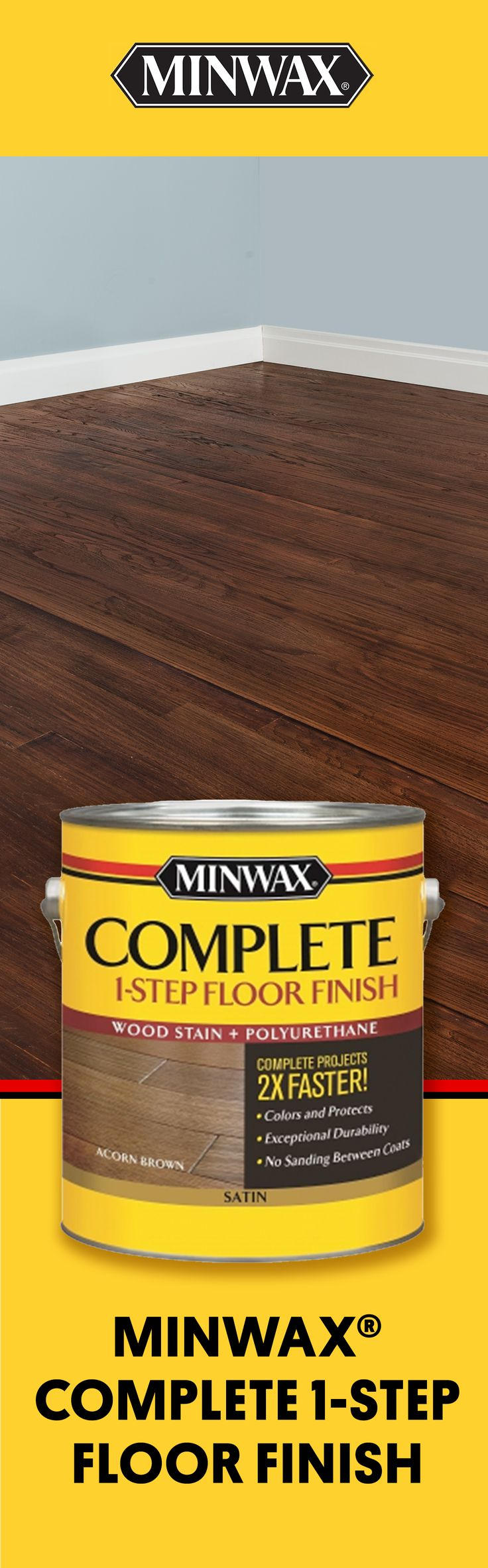 Wood by sanding the floors minwax floor finishes minwax floor finishes - Ready To Bring Your Wood Floors To Life Apply Rich Color And Protective Finish In Floor Finishesminwaxrich