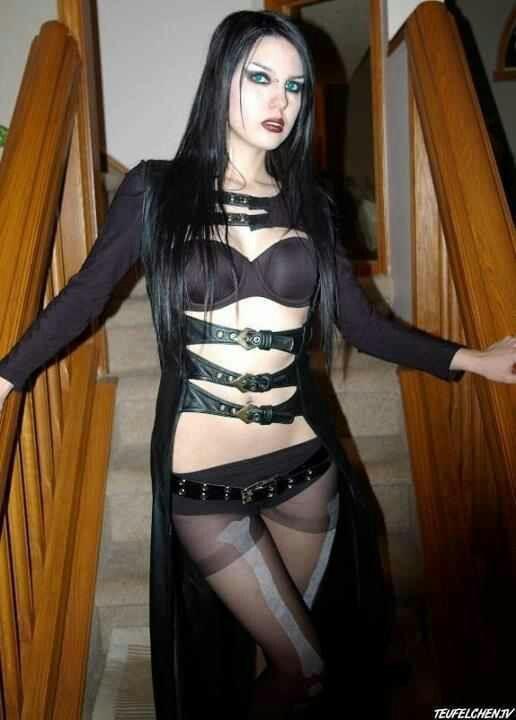 Sexy goth cuties 10