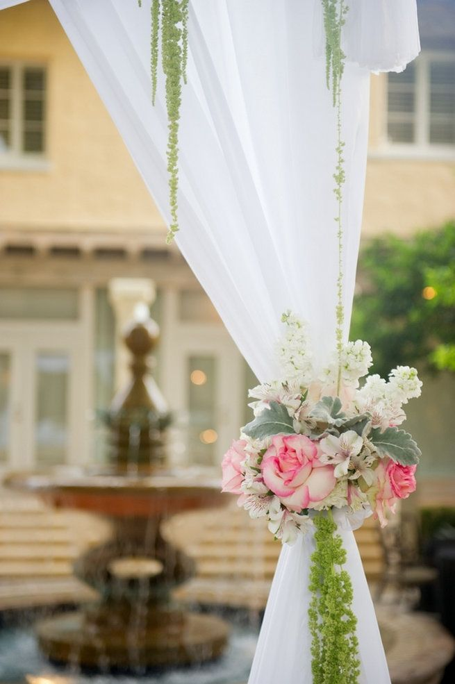 21 Amazing Wedding Arch + Canopy Ideas : wedding canopies and arches - memphite.com