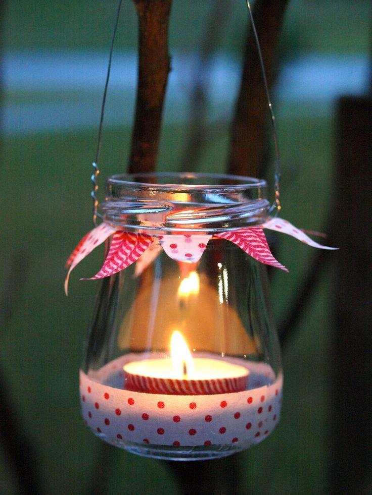 1000 bilder zu deko auf pinterest mooskranz basteln - Marmeladenglas deko ...