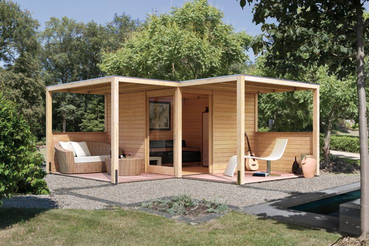 25 best Gartenzimmer images on Pinterest Backyard patio, Sheds and