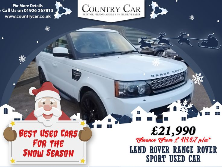 £21,990 | LAND ROVER RANGE ROVER SPORT USED CAR Finance From £ 414.07 p/m*  #rangerover #2013 #warwickshire #rangeroversport #countrycar #usedcar #car #snow #luxuryCars #carsofsales #carsales #financecars #usedcarfinance #nicecar #bestusedcar #MerryChristmas #happyholidays #adventure