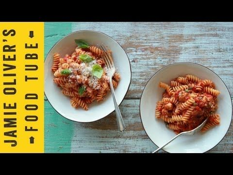 Super-Quick Pasta Sauces: Classic Tomato Sauce with the Chiappas - YouTube