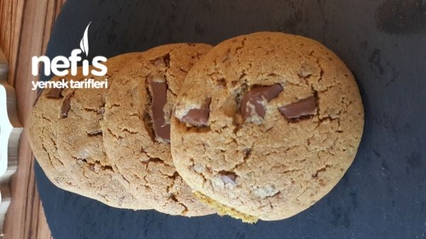 Parça Çikolatalı Tarçınlı Kurabiye(amerikan Cookie)