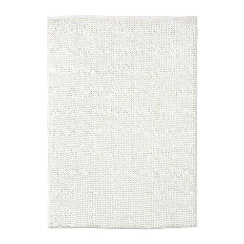 IKEA Toftbo bathmat, white $12.99  702.034.00  Microfiber, ultra soft, absorbent & dries quickly!