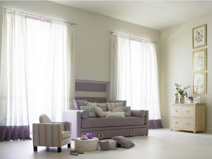 Dise o cortinas de salon ideas para el hogar pinterest for Cortinas blancas salon
